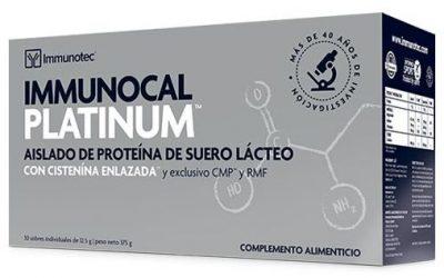 Immunocal Platinum, ideal para atletas y personas mayores de 35 años